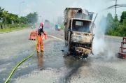 2 Laka Sehari, 1 Korban Tewas dan Sebuah Mobil Terbakar