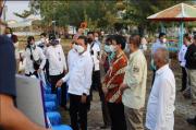 Sambangi PPNP, Menteri Trenggono Janjikan Keruk Alur Pelabuhan