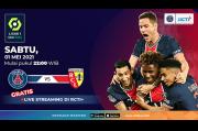 Live Streaming RCTI Plus: Paris Saint-Germain vs RC Lens