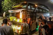 Kedapatan Angkut Pemudik dari Terminal Bayangan, Bus AKAP Ini Langsung Ditahan