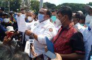 Aksi May Day di Patung Kuda, Presiden KSPSI Menjamin Semua Buruh Sudah Diswab Antigen