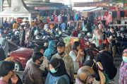 Pasar Tanah Abang Dipadati Pengunjung, Protokol Kesehatan Diabaikan