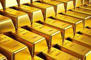 Menutup Akhir Pekan, Harga Emas Turun Seceng