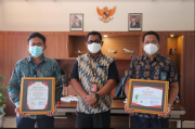 Bandara Sam Ratulangi Manado Raih Penghargaan Zero Accident