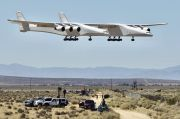 Dua Tahun Hiatus, Pesawat Raksasa Stratolaunch Lakukan Uji Terbang ke-2