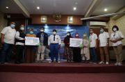 May Day, BPJamsostek Surabaya Tanjung Perak Serahkan Bantuan Beasiswa Pada Ahli Waris Peserta