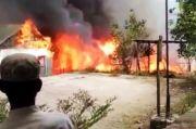 Ponpes Abdul Aziz Baraka Terbakar, Kerugian Ditaksir Rp150 Juta