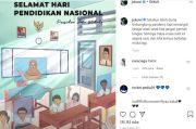 Unggah Foto Sekolah Online Peringati Hardiknas, Jokowi: Jangan Pernah Lunglai