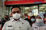 Gubernur Pantau Protokol Kesehatan di Tanah Abang, Pengunjung: Bapak Gue Tuh, Pak Anies