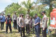 Cegah Pemudik, Polres Sarolangun Bangun Pos Penyekatan di Perbatasan Jambi-Sumsel