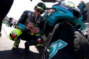 Terpuruk Saat Kualifikasi GP Spanyol, Valentino Rossi Salahkan Perangkat Elektronik Motor