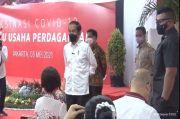 Presiden Tinjau Vaksinasi Covid-19 Pelaku Usaha di Thamrin City