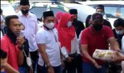 Suasana Haru Sambut Kehadiran Pengurus Perindo Jambi Bagikan Paket Lebaran untuk Lansia