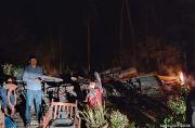 Rumah Janda Dhuafa Ludes Terbakar, Semua Harta Ludes Kecuali Baju di Badan