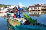 Polair Polda Malut Bekuk 9 Pelaku Bom Ikan di Taliabu