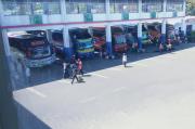 3 Hari Jelang Larangan Mudik, Terminal Purabaya Terpantau Sepi