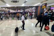 H-2 Larangan Mudik, Penumpang Pesawat Padati Bandara Sultan Hasanuddin