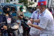 Bagi-bagi Takjil Perindo di Kota Medan, Warga Doakan Semoga Berkah