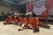 Didominasi Remaja, Jatanras Polda Sumsel Tangkap Komplotan Begal