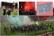 Man United Bantah Ada Keterlibatan Staf Klub dalam Aksi Pembajakan Old Trafford