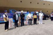 Pakai KM Umsini, Stakeholder Pelabuhan Tanjung Priok Kirim Bantuan ke NTT