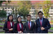 Taklukkan Kampus Dunia, 4 Mahasiswa UGM Raih Juara di Ajang Bisnis Internasional