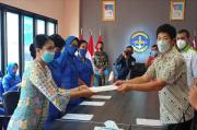 Sido Muncul Serahkan Bantuan Rp720 Juta untuk Ahli Waris Awak KRI Nanggala-402