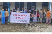 Tebar Kebaikan di Bulan Ramadhan, Pertamina Beri Santunan di Area Proyek Rokan