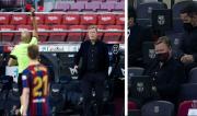 Bentrok Atletico Madrid, Barcelona Ajukan Banding Kedua atas Kartu Merah Koeman