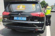 Dikandangin Polisi, Mobil Kekaisaran Sunda Nusantara Mau ke Mana?
