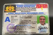Ini Wujud SIM Menteri Keuangan Kekaisaran Sunda Nusantara