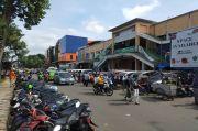 Cegah Kerumunan, Pemkot Bogor Terapkan Rekayasa Lalin di Pasar Kebon Kebang
