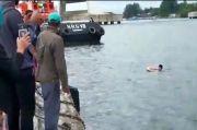 Nekat Lompat ke Laut dari Kapal saat Berlayar Aksi Pemuda Ini Bikin Geger Pelabuhan Kendari