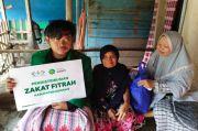 Ribuan Orang Terima Zakat Fitrah yang Disalurkan NU Care-LAZISNU
