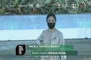 Wamenparekraf Angela Tanoesoedibjo Tampil Cantik dengan Tunik di Modest Fashion Founders Fund 2021