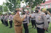 Polda Kepri Laksanakan Apel Gelar Pasukan Operasi Ketupat Seligi 2021