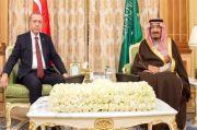 Via Telepon, Raja Arab Saudi Salman dan Erdogan Bahas Hubungan Bilateral