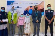Tim Marketing Pegadaian Berikan Donasi Lauk Segar untuk Keluarga tak Mampu