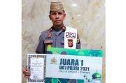 Iptu M. Atmal Fauzi Raih Juara Satu Dai Polisi se-Indonesia