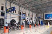 Kisah Sepi Stasiun Pasar Senen Jelang Lebaran