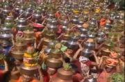 Desa di India Gelar Festival Keagamaan di Tengah Tsunami Covid-19