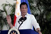 Duterte Perintahkan Tangkap Orang Tak Pakai Masker, tapi Dia Sendiri Tak Pakai
