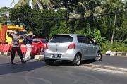 1 Jam, Puluhan Kendaraan Diminta Putar Balik di Pos Penyekatan Tempel Sleman