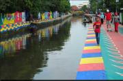 Restorasi Sungai Sekanak Lambidaro Palembang Dilanjutkan