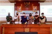 Bupati Suwirta Terima Kunjungan Satgas Covid Nasional