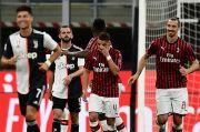 Juventus-AC Milan Saling Sikut Berebut Tiket Liga Champions