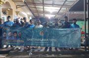 KNPI Bagikan Paket Lebaran untuk Pemulung dan Warga Bantar Gebang