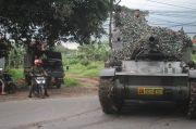 Begini Kronologis Tank TNI Berada di Perbatasan Bekasi-Bogor