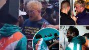 Topi Dicuri, Mayweather Adu Jotos dengan Jake Paul saat Jumpa Pers