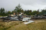 Hasil Olah TKP Ternyata Pusat Kegiatan Belajar Masyarakat yang Dibakar KKB OPM